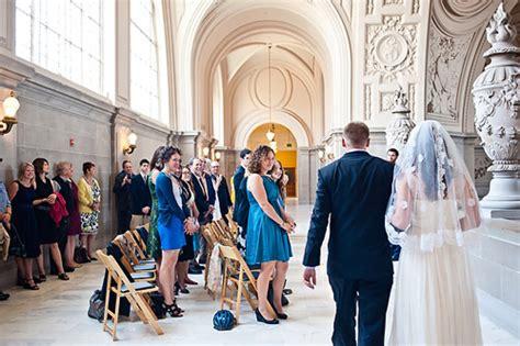 wedding in san francisco ca 2 intimate san francisco wedding at city junebug weddings