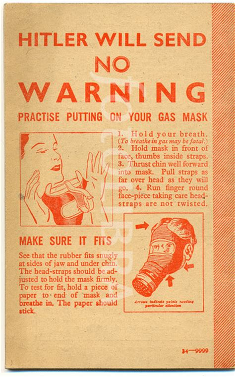 printable gas mask box label gas mask instructions from the fire guards handbook hmso