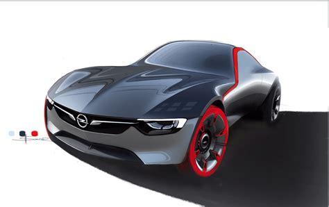 opel gt concept rinascita senza design retro auto design
