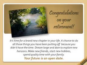 your future is an open slate free retirement ecards greeting cards 123 greetings