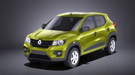 Renault Modele 2018 renault 2018 kwid 3d model turbosquid 1228421