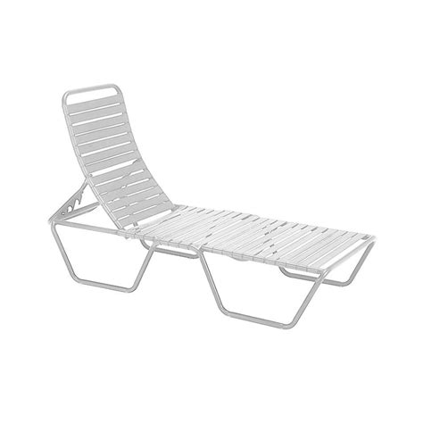 tradewinds milan white commercial patio chaise lounge hd