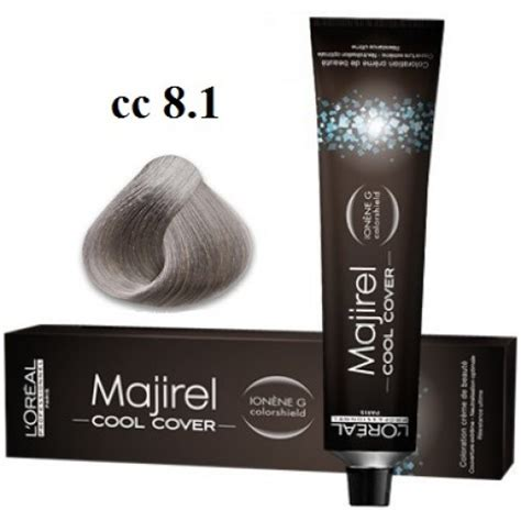 l or 233 al professionnel majirel cool cover coverage 50ml 8 11 cool cover majirel l oreal professionnel vopsea profesionala 50 ml