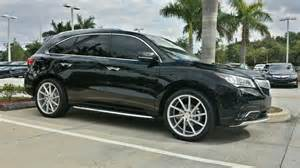 Acura Tl 22 Inch Rims 2014 Acura Mdx Sh Awd On 22 Quot Vossen Cvt Acurazine