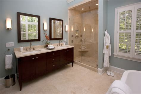Bathroom Vanity Decorating Ideas by Spa Bathroom Traditional Bathroom Charlotte By