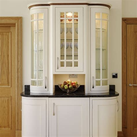 Kitchen Display Cabinet | display cabinet be inspired by a cream painted country