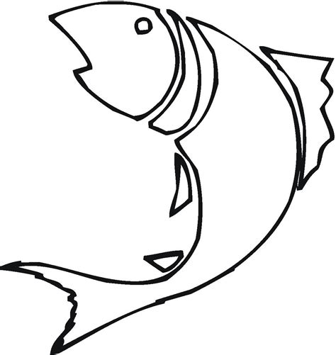 Clipart Outline by Bass Fish Outline Clip Clipart Panda Free Clipart Images