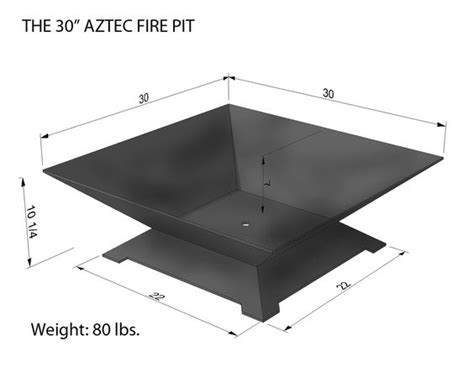square pit dimensions the world s catalog of ideas