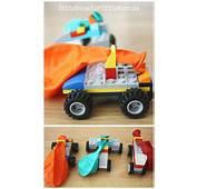 LEGO Balloon Car DIY Lego Building Kit STEM Activity