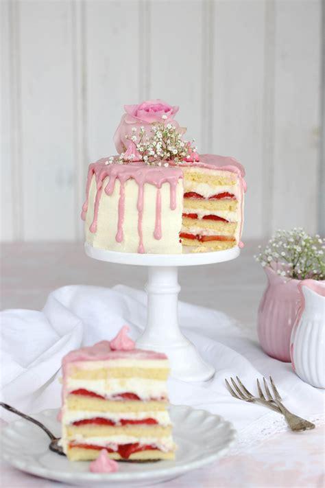 kuchen teig muttertag erdbeer frischk 228 se torte cake kuchen and