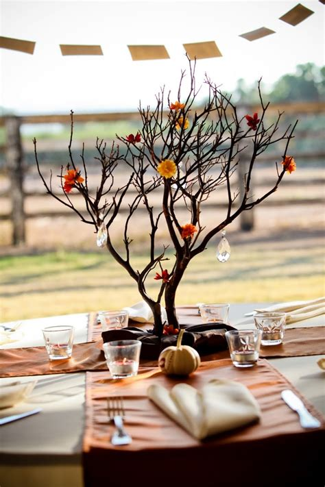 branch centerpieces weddingbee