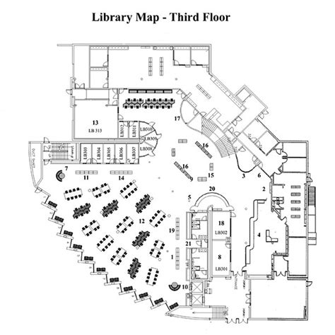 university library floor plan glendale college library map and floor plans