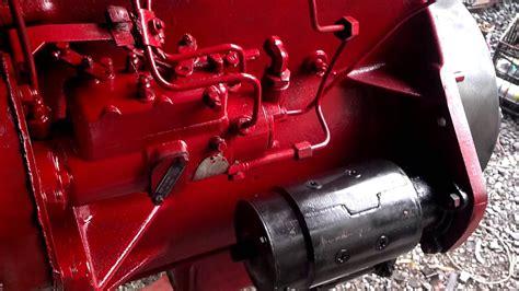 international harvester diesel engine rebuild youtube