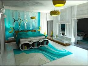 Awesome brown and turquoise bedroom ideas black teal
