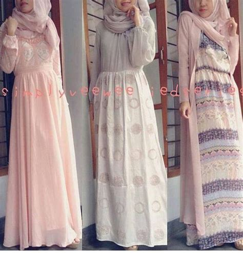 design dress hijab cute hijab designs for informal dresses hijabiworld