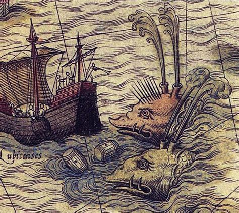 sea monsters on medieval 0712357718 1000 images about sea monsters maps medieval and renaissance on renaissance