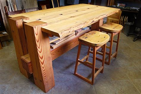 antique timber hardwoods table timber frame study