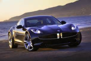 Electric Car Fisker Fisker Karma Luxury Electric Vehicle Box Autos