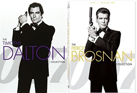 timothy dalton james bond review pierce brosnan 007 collection timothy dalton james bond