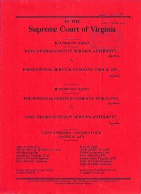 Va Records Virginia Supreme Court Records Volume 267 Virginia