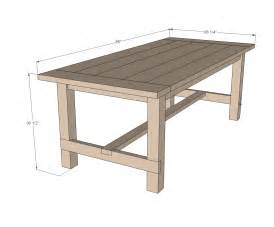 farmhouse desk plans white farmhouse table updated pocket plans