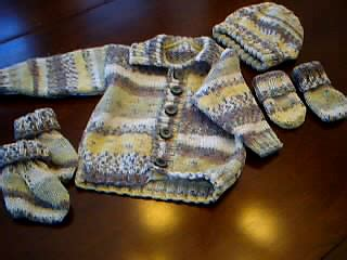 Limited Slabber Mitten Booties Set S Ravelry Jacket Hat Mittens Bootees And Blanket