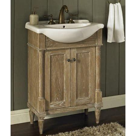 rustic chic bathroom vanity fairmont designs rustic chic 26 quot vanity sink set