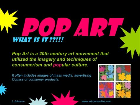 Pop Art Slideshow Pop Powerpoint