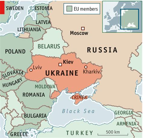 map ukraine and russia failure of diplomacy flaring of tempers crimea