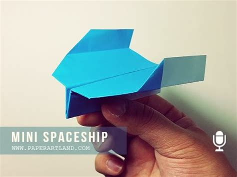 How To Make A Paper Spaceship That Flies - boomerang paper airplane for how to make a paper