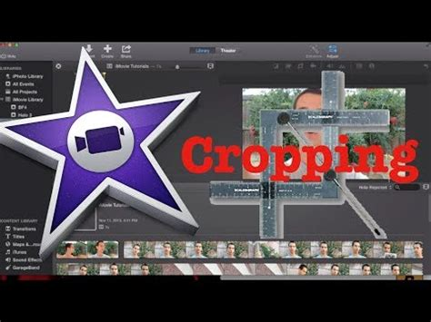 tutorial imovie 10 0 5 how to crop a video in imovie 10 0 tutorial 6 youtube