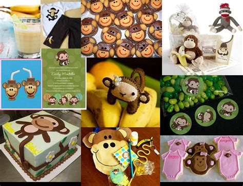monkey theme decorations baby shower decorations monkey theme best baby decoration
