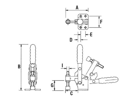Spindle L Base by Flanged Base Fixed Spindle Vertical Toggle Cls