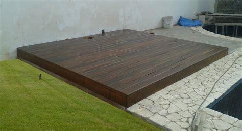 deck madera deck de madera
