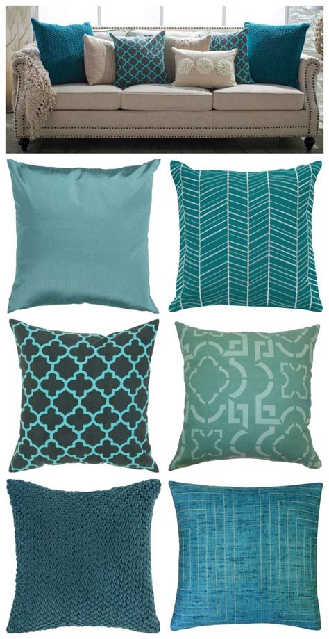 Teal Sofa Cushions 17 best ideas about teal cushions on teal sofa