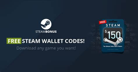 Free Steam Wallet Code Giveaway - free 150 steam wallet code steambonus com