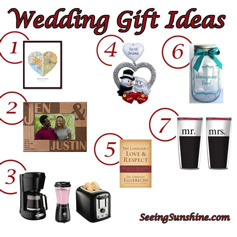wedding gift ideas  sunshine