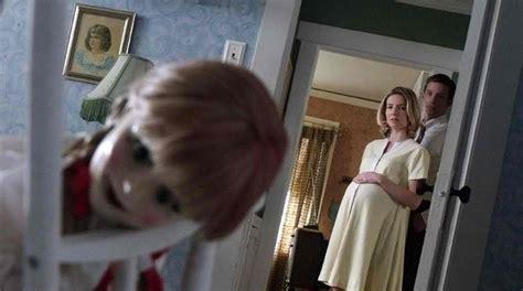 annabelle doll locked up annabelle trailer released starmometer