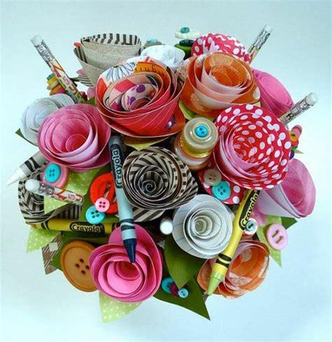 Blumenstrauß Aus Papier Basteln 4726 by 50 Bastelideen Aus Papier Blumen Girlanden Und T 252 Rkr 228 Nze