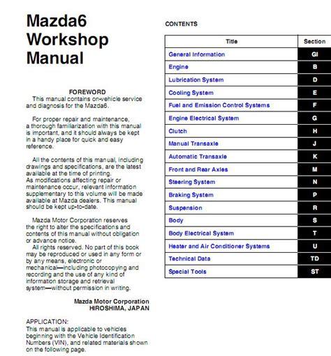 download car manuals pdf free 2013 mazda mazda6 electronic valve timing service manual pdf 2013 mazda mazda6 transmission service repair manuals guides and manuals