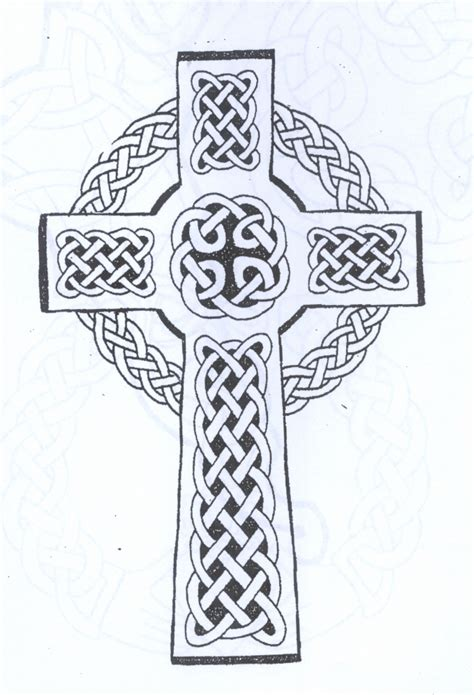 black and white cross tattoo 46 celtic cross tattoos designs