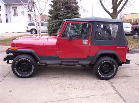 Jeep Yj Doors by Jeep Wrangler Yj 4x4 New Soft Top Steel Doors