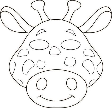 animal cutouts templates masks animal masks and safari animals on