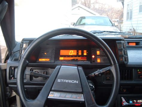 mitsubishi starion dash qotd what s your favorite instrument panel from the great