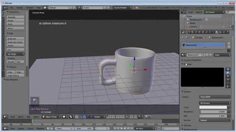 tutorial blender membuat gelas tutorial blender membuat gelas sederhana youtube