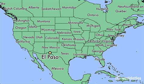 el paso texas on map where is el paso tx el paso texas map worldatlas