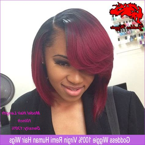 Bob Weave Hairstyles For Black by Ombre Bob Sew In Hairstyles Hairstyles