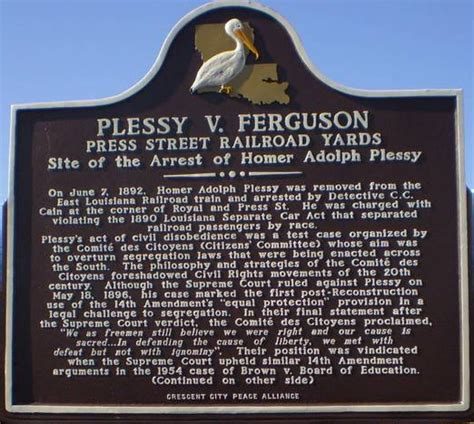 Plessy V Ferguson Essay by Racial Segregation In The South By The End Of The 1890 S Writework