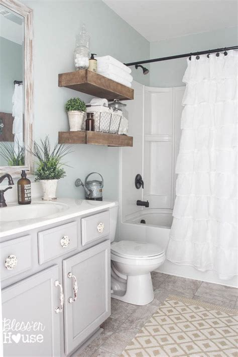 Bathroom Makeover by Modern Farmhouse Bathroom Makeover Reveal
