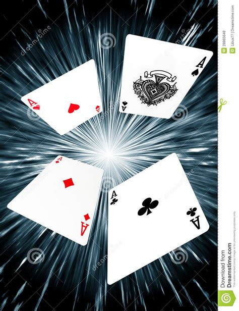 A Deck Of Playing Cards by Playing Cards Flying Aces Background Stock Photo Image